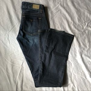 Guess Daredevil Bootcut Jeans dark wash size 26